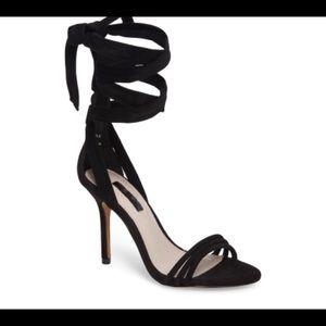 "Topshop ""Ramona"" ankle tie heels"